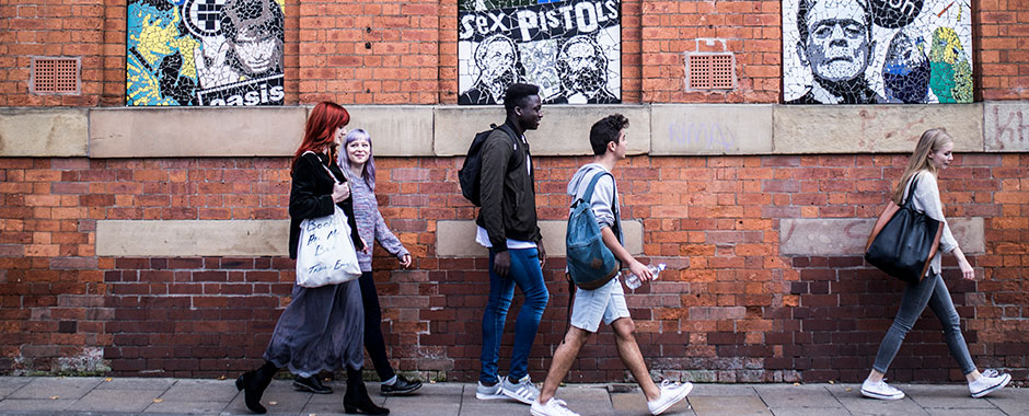 Students in Manchester